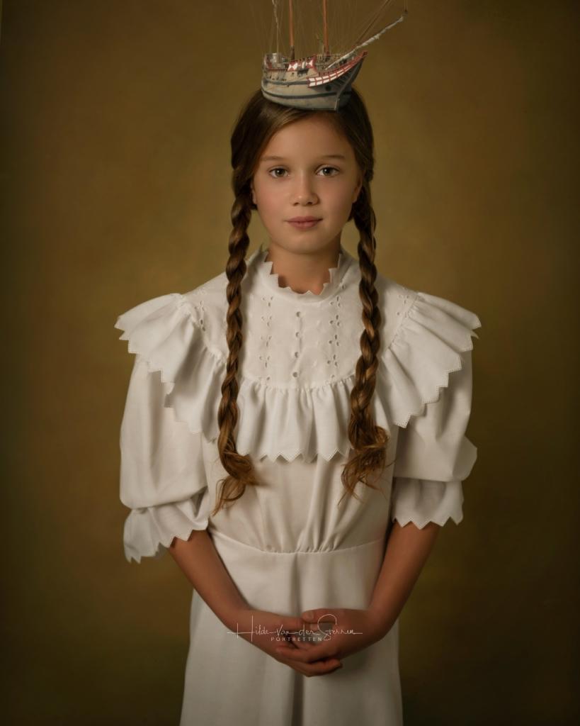 Hilde van der sterren portretten wassenaar meisje zeilboot portret quote