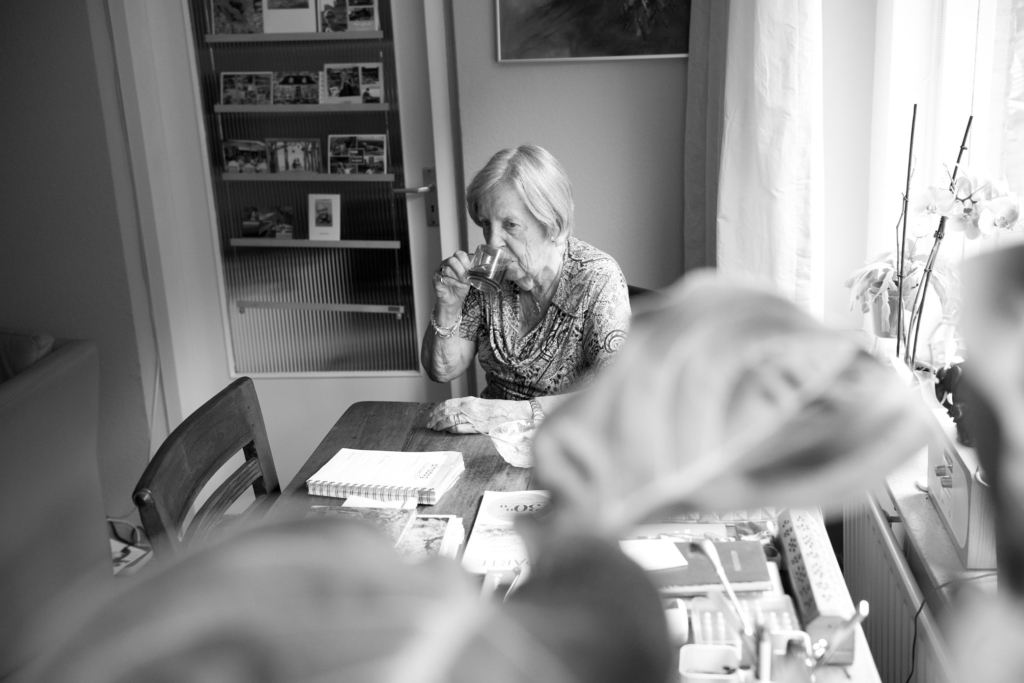 documentaire fotografie oudere dame verzorgingstehuis hilde van der sterren portretfotograaf